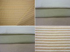 Muestra de algunos de los tejidos que Fox Fibre Colorganic ofrece a metros.