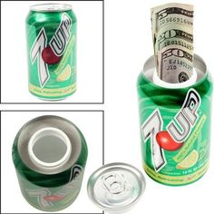 Soda Hidden Can Diversion Safe wall-safe Diversion Safe, Hidden Safe, Wall Safe, Hidden Compartments, Mountain Dew, Graduation Gifts, Soda, Great Gifts, Arts And Crafts