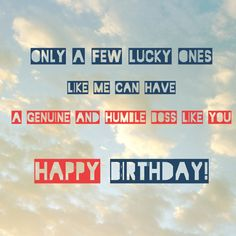 Birthday Wishes For Boss Card Free Friend Quotes