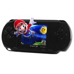 """Pour PXP3 16BT LCD 2.7 """"pouces De Poche Console de Jeu De Poche Jeu Joueurs Portable Vidéo Jeu Bébé Enfant Jouets De Noël Cadeaux"""