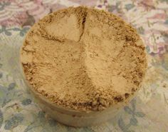 Mineral foundation  Rose  Loose Mineral by jenjoicosmetics on Etsy