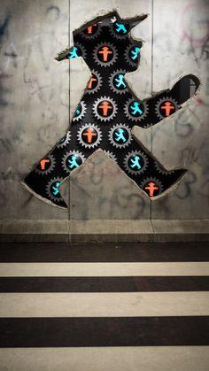 Ampelmann Street Art in Berlin