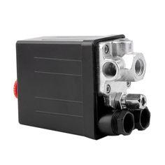 Convenient Heavy Duty 240V 16A Auto Control Load/Unload Air Compressor Pressure Switch Control Valve 90 PSI -120 PSI