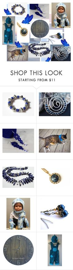 """I love the blue!"" by lwitsa62 ❤ liked on Polyvore featuring interior, interiors, interior design, home, home decor and interior decorating"