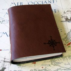 explorer journal with maps a travel bucket list journal in faux leather