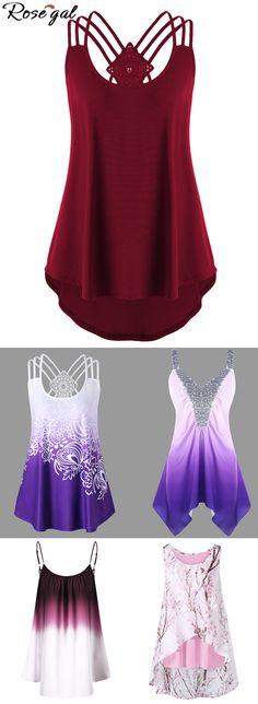 11964f3798f64 Free shipping worldwide. plus size tank tops for women.plus size fashion