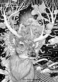 [Coup de Cœur] - Les superbes illustrations de Rlon Wang