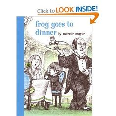 Frog Goes to Dinner (Boy, Dog, Frog) wordless book