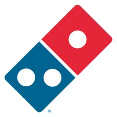 Deloney: Logo and Logotypes- Dominos Pizza logo is fairly unique. The logo looks like a tilting Domino with their signature two tone colors blue and red. The design is spot on for the product and can identified as a open pizza box. Pizza Hut, Ann Arbor, Dominos Pizza Coupons, Logo Pizza, Michigan, Pizza Special, Order Pizza, Pizza Restaurant, Logo Restaurant
