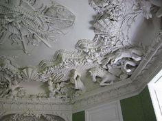 """""""The Sea room"""" at Rydzyna palace, Poland"""