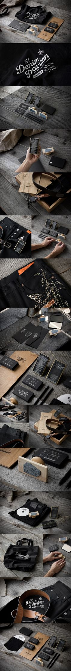 The Denim Pavilion packaging branding marketing PD