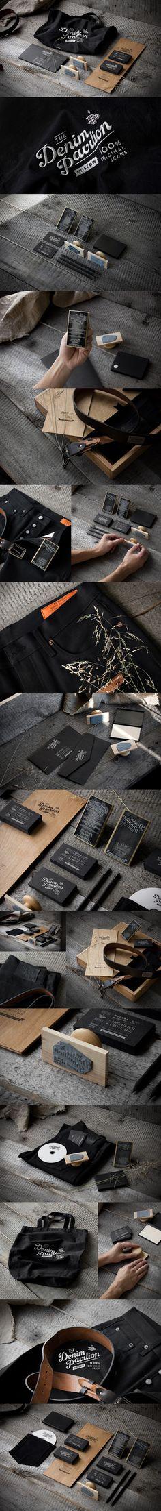 The Denim Pavilion packaging branding marketing PD