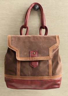 International Micro Suede Satchel Backpack | Modern Vintage Accessory Sets $52.99