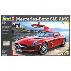 Mercedes-Benz SLS AMG -  $41.89  Under its hood, this car features the world's most powerful 6.3L V8. In under four seconds, this car rockets from standstill to sixty. Revell's car kit replicates its V8 and exterior in well-deserved detail.  #scalemodel #modeler #modelkit #modelcar #modelship #modelspaceship #modelcharacter #modelairplane
