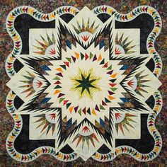 Glacier Star ~ Quiltworx.com, made by CI Lain Stoew