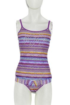 Intimates: What's Selling Now (Hanky Panky's Missoni-inspired cami and thong are bestsellers at Barenecessities.com.)