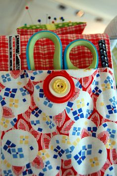 Ironing Board Caddy by Miss Sews-It-All, via Flickr