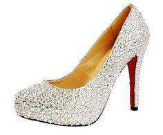 Honeystore Women's Bridal Rhinstone High Heel Leather Pump White 8.5 B(M) US Honeystore,http://www.amazon.com/dp/B00F0NIBAI/ref=cm_sw_r_pi_dp_Am-zsb0XHBR5Z6Y3