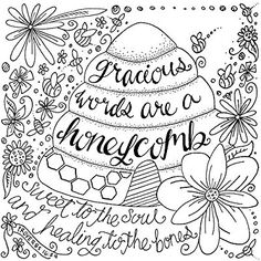 1 Corinthians 13:13 Love Adult Coloring Page by
