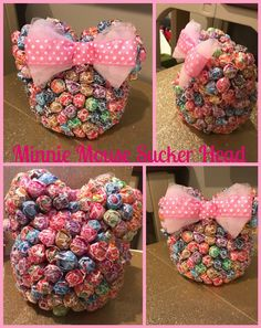 A personal favorite from my Etsy shop https://www.etsy.com/listing/280093522/minnie-mickey-mouse-lollipop-head
