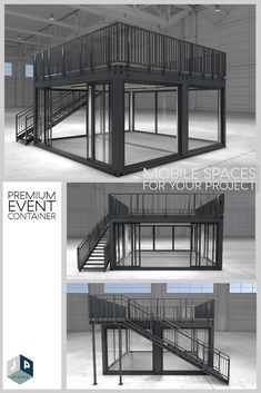 Prefab Container Homes, Shipping Container House Plans, Container Buildings, Container Architecture, Container Coffee Shop, Container Cafe, Container House Design, Outdoor Restaurant Design, Porch Bar