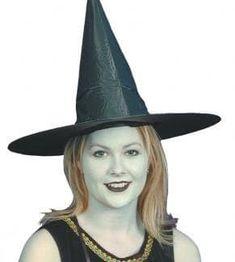Witch Fancy Dress, Halloween Hats, Black, Black People