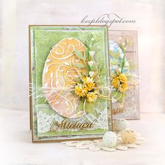 Klaudia/Kszp Card Making Inspiration, Making Ideas, Holiday Cards, Christmas Cards, Diy Ostern, Quilling Cards, Pretty Cards, Creative Cards, Greeting Cards Handmade