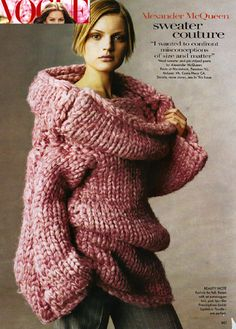 tricô why knit a small jumper when you can go big and beautiful woolly wonders to snuggle in