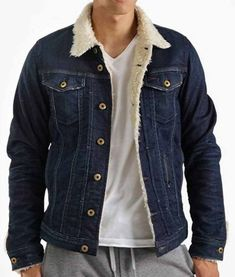 The denim jacket is love for guys. Get this Tommy Jarvis Jacket inspired from Friday The game and made in stunning Denim material with fur inside. Grab Now! Hurry Up! Tommy Jarvis, Friday The 13th Games, New Years Sales, Sale Sale, Winter Sale, Christmas Sale, Black Friday, Shop Now, Leather Jacket