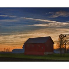 Farm after Sunset from Emergent Light Studio for $90.00