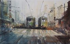 Sydney Trams-William St c.1957 | Flickr - Photo Sharing!