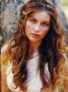 Laetitia Casta ad her mermaid hair Laetitia Casta, Yvonne De Carlo, French Beauty, Timeless Beauty, Iconic Beauty, Natalia Vodianova, Gwyneth Paltrow, Estelle Lefébure, Seventeen Magazine