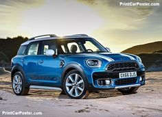Mini Countryman 2017 poster, #poster, #mousepad
