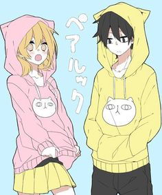 Not a couple but a bro and sis Momo & Shintaro | Kagerou Project