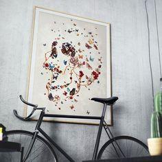 . Go big! With @fineartamerica . #caveira #decor #decoração #interior #interiordesign #galeria #arte #art #casa #bike #artgallery #blogger #skulls #home #paint #mixedart #arquitetura #archlover #denmark #miami #nyc #europe #usa #mexico #spain #turkey #argentina #uk #london #butterfly