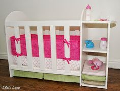 Lilato Laka: Doll Crib