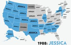 Most Popular Word Used In Online Dating Profiles By State