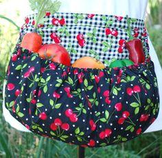 Garden Harvest Apron  Child Size by TumbleweedJunction on Etsy, $42.50