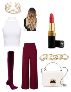 """Untitled #31"" by amandaberger on Polyvore featuring Manolo Blahnik, Roland Mouret, Marni, WearAll, GUESS and Chanel"