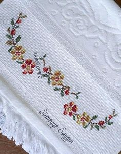 Cross Stitch Embroidery, Linens, Random Drawings, Manish, Craft, Cross Stitch Heart, Bag Packaging, Towels, Watercolour