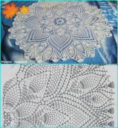 Free Crochet Doily Patterns, Crochet Doily Diagram, Macrame Patterns, Crochet Chart, Thread Crochet, Filet Crochet, Crochet Motif, Knitting Patterns, Crochet Dollies