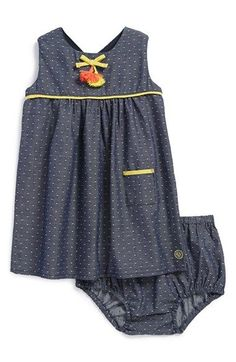 Margherita Dot Shift Dress (Baby Girls) available at #Nordstrom