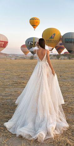 Sleeveless v back a line wedding dress : Eva Lendel Wedding Dress #weddingdress #wedding #weddinggown