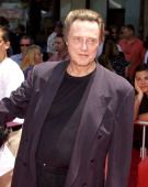 Christopher Walken during 'The Country Bears' Premiere at El Capitan Theatre in Hollywood California United States