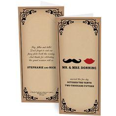 Mustache & Lips Props Wedding Photo Booth Folder Holder Frame