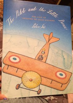 The Pilot and the Little Prince by Peter Sís is an amazing book. Illustrations are just as good.
