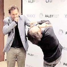 Mads Mikkelsen and Hugh Dancy, NYC Paley Fest 10.18.14