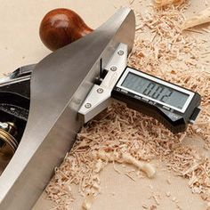 Woodworking Bench Plane Check Gauge