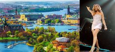 Scenic summer aerial panorama of the Old Town (Gamla Stan) architecture in Stockholm, Sweden - scanrail/iStock/Getty Images Plus Cool Countries, Countries Of The World, Best Places To Live, Cool Places To Visit, Venice Simplon Orient Express, Cheap Flights To Europe, Wow Air, Stockholm Sweden, Stockholm 2017