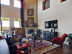 View galleries of various rooms that Gehan Homes offers - Photo Galleries by room for new homes in Austin, DFW, Houston, Phoenix & San Antonio. Spacious Living Room, Living Rooms, Building A New Home, Home Builders, Family Room, New Homes, Gallery Wall, Floor Plans, House Design